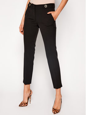 Trussardi Jeans Trussardi Jeans Spodnie materiałowe 56P00180 Czarny Regular Fit