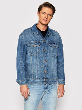 Wrangler Wrangler Giacca di jeans Anti Fit W459SF667 Blu Regular Fit