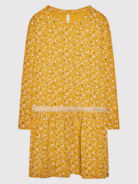 Coccodrillo Coccodrillo Hétköznapi ruha ZC1129103BEU Sárga Regular Fit