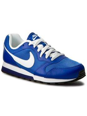Nike Nike Chaussures Md Runner 2 (Gs) 807316 402 Bleu marine