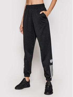 adidas adidas Pantaloni da tuta adicolor 3D Trefoil Track GN2897 Nero Regular Fit
