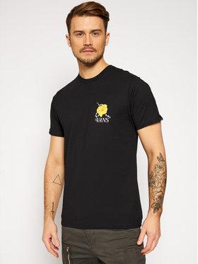 Vans Vans T-Shirt Super Bloom VN0A4ROS Schwarz Slim Fit