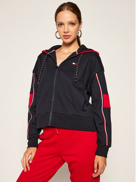 Tommy Sport Tommy Sport Суитшърт Colour Blocked S10S100763 Тъмносин Regular Fit