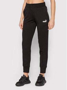 Puma Puma Teplákové kalhoty Essentials 586842 Černá Regular Fit
