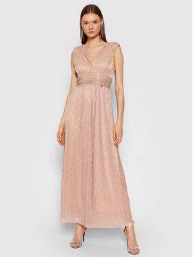 Rinascimento Rinascimento Robe de soirée CFC0104690003 Rose Slim Fit