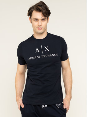 Armani Exchange Armani Exchange T-Shirt 8NZTCJ Z8H4Z 1510 Granatowy Regular Fit