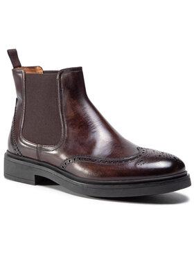 Fabi Fabi Členková obuv s elastickým prvkom FU0178a Hnedá