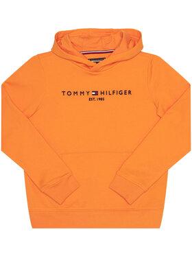 TOMMY HILFIGER TOMMY HILFIGER Bluză Essential KB0KB05796 Portocaliu Regular Fit