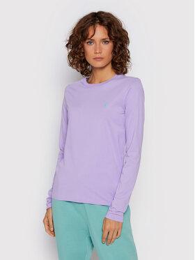 Polo Ralph Lauren Polo Ralph Lauren Bluse 211847074003 Violett Regular Fit