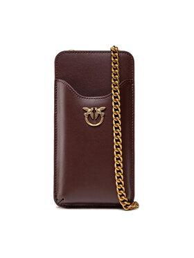 Pinko Pinko Handtasche I Phone Case Simply C . AI 21-22 PLTT 1P22ES Y6XT Dunkelrot