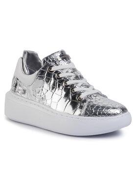 Guess Guess Laisvalaikio batai Braylin FL5BRA PEL12 Sidabrinė