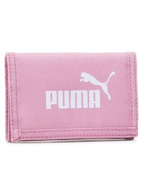 Puma Puma Duży Portfel Damski Phase Wallet 075617 44 Różowy