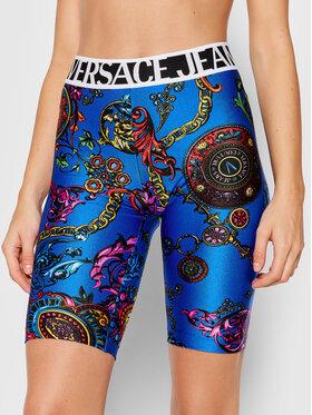 Versace Jeans Couture Versace Jeans Couture Szorty sportowe 71HAC106 Niebieski Slim Fit