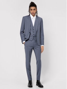 Hugo Hugo Costume Arti/Hesten 212V1X 50450103 Gris Extra Slim Fit