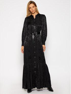 MICHAEL Michael Kors MICHAEL Michael Kors Košilové šaty MF0800SF6K Černá Regular Fit