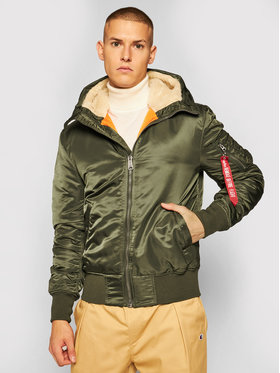 Alpha Industries Alpha Industries Kurtka puchowa Ma-1 Tt 158104 Zielony Regular Fit