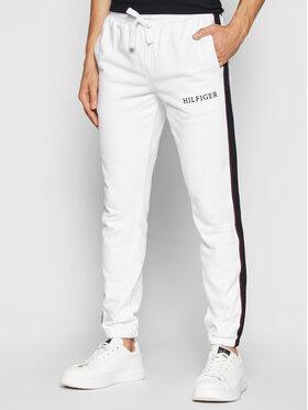 Tommy Hilfiger Tommy Hilfiger Spodnie dresowe Taped MW0MW18722 Biały Regular Fit