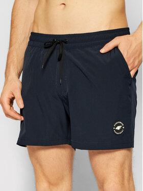 4F 4F Kupaće gaće i hlače H4L21-SKMT001 Tamnoplava Regular Fit