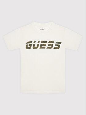 Guess Guess T-shirt L1BI33 J1311 Bianco Regular Fit