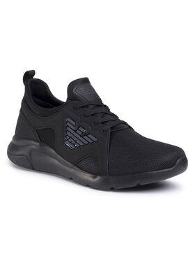 EA7 Emporio Armani EA7 Emporio Armani Sneakers X8X056 XCC56 M619 Nero