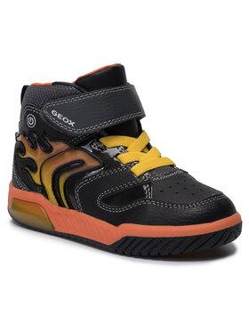 Geox Geox Sneakersy J Inek B. C J949CC 0BU11 C0038 S Černá