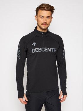 Descente Descente Technisches Sweatshirt ¼ Zip DWMQGB25 Schwarz Regular Fit