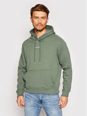 Calvin Klein Jeans Calvin Klein Jeans Mikina J30J317388 Zelená Loose Fit