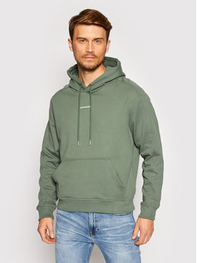 Calvin Klein Jeans Calvin Klein Jeans Суитшърт J30J317388 Зелен Loose Fit