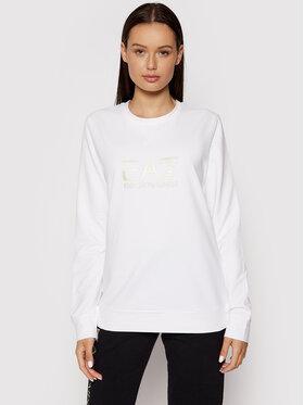 EA7 Emporio Armani EA7 Emporio Armani Sweatshirt 8NTM35 TJCQZ 0101 Blanc Regular Fit