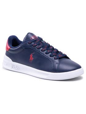 Polo Ralph Lauren Polo Ralph Lauren Sneakersy Hrt Ct II-Sk-Ath 809829824002 Granatowy
