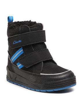 Clarks Clarks Cizme de zăpadă Jumper Jump T 261535077 Negru