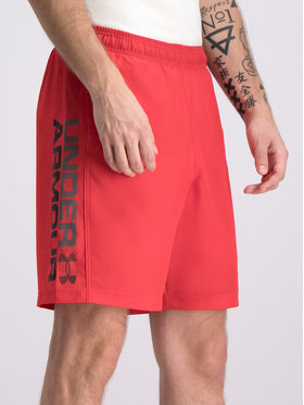 Under Armour Under Armour Sport rövidnadrág UA Woven Graphic Wordmark 1320203 Piros Regular Fit