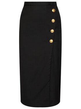 Pinko Pinko Midi sukně Monsone 20202 PBK2 1B14SH.6116 Černá Slim Fit