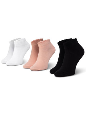 Mayoral Mayoral Σετ κοντές κάλτσες παιδικές 3 τεμαχίων 10788 Λευκό