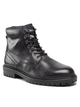 Pepe Jeans Pepe Jeans Turistická obuv Ned Boot Lth PMS50210 Černá