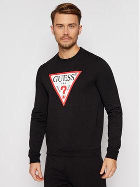 Guess Guess Bluză M0BQ37 K7ON1 Negru Slim Fit