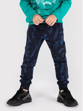 Coccodrillo Coccodrillo Spodnie dresowe ZC1122701DIN Granatowy Regular Fit