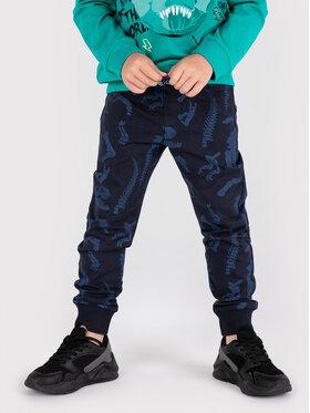 Coccodrillo Coccodrillo Teplákové kalhoty ZC1122701DIN Tmavomodrá Regular Fit
