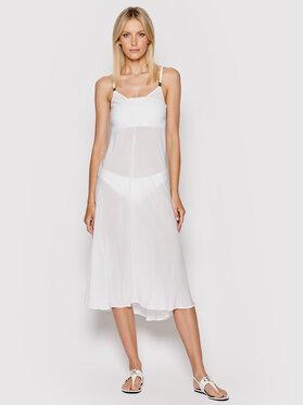 Calvin Klein Swimwear Calvin Klein Swimwear Пляжне плаття Core Textured KW0KW01352 Білий Regular Fit