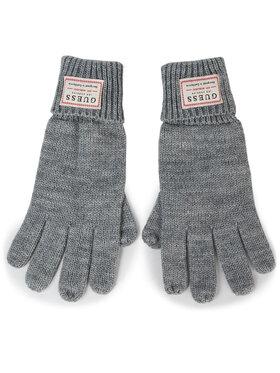 Guess Guess Pánské rukavice NOT COORDINATED GLOVES AM8586 WOL02 Šedá
