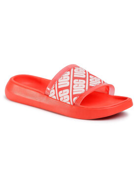 Ugg Ugg Șlapi W Ruette Slide 1111072 Roșu