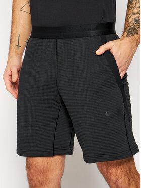 NIKE NIKE Pantaloncini sportivi Tech Pack CU3591 Nero Standard Fit