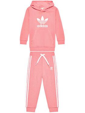 adidas adidas Dres Trefoil GN8198 Różowy Regular Fit