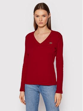 Lacoste Lacoste Блузка TF2317 Червоний Regular Fit