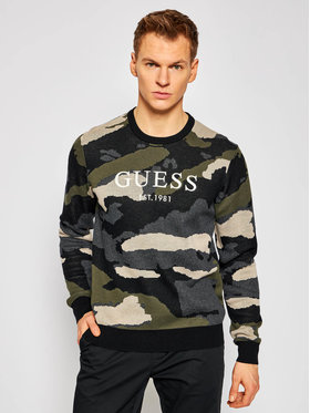 Guess Guess Maglione M1RR62 Z2SC0 Verde Regular Fit