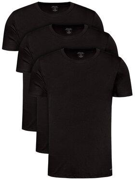 Calvin Klein Underwear Calvin Klein Underwear Set 3 tricouri 000NB4011E Negru Classic Fit