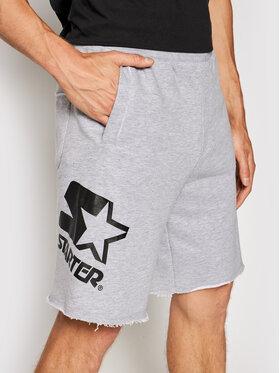 Starter Starter Szorty sportowe SMG-018-BD Szary Regular Fit