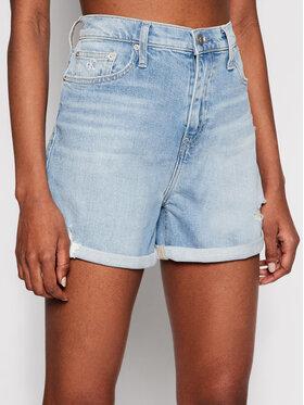 Calvin Klein Jeans Calvin Klein Jeans Szorty jeansowe J20J215892 Niebieski Mom Fit