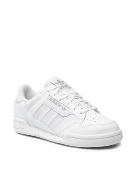 adidas adidas Chaussures Continental 80 Stripes J Q47341 Blanc