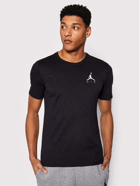 Nike Nike Tricou Air Jordan Jumpman Embroidered AH5296 Negru Standard Fit